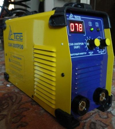 Сварочный аппарат саи-200ПРОФ